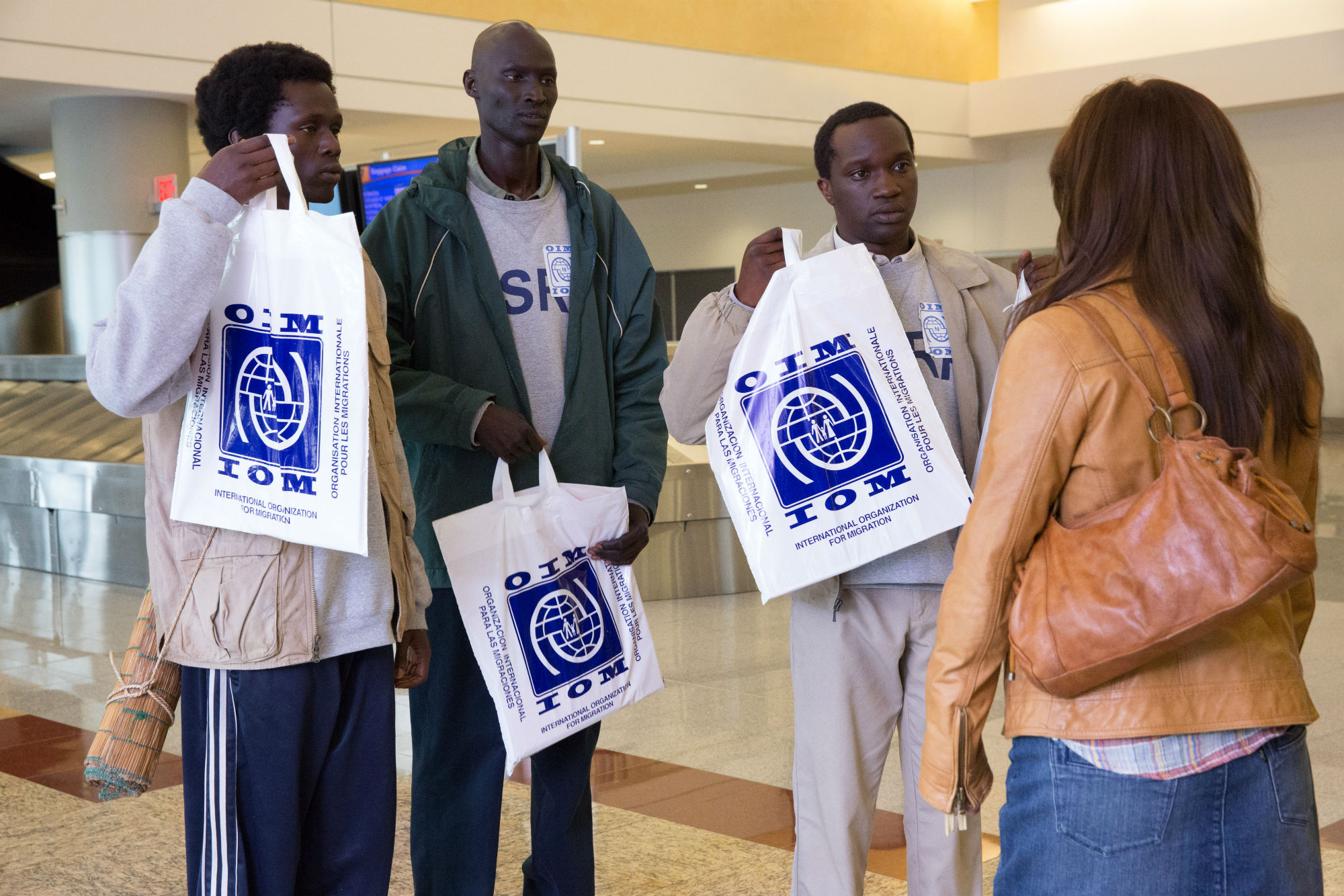 The good lie interviews with arnold oceng ger duany and kuoth wiel