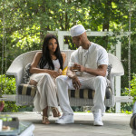 Alexandra Shipp (Aaliyah) and Anthony Grant (Damon Dash)