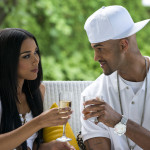 Alexandra Shipp (Aaliyah) and Anthony Grant (Damon Dash) 2