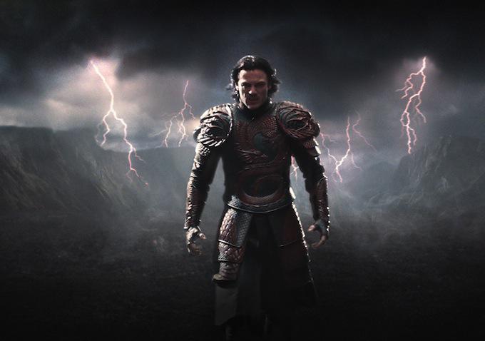 Actor Luke Evans Tells of Making Dracula Untold ...
