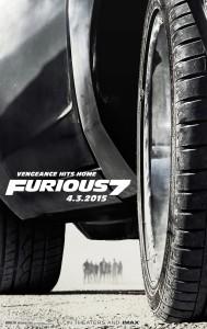 Furious 7 teaser poster