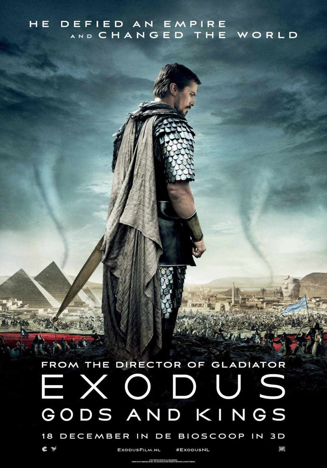 Exodus Gods And Kings (2014) Poster
