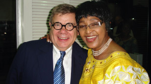 Jean Yves Ollivier and Winnie Mandela 2