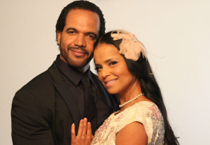 Marry US For Christmas - Kristoff St. John with Victoria Rowell 1