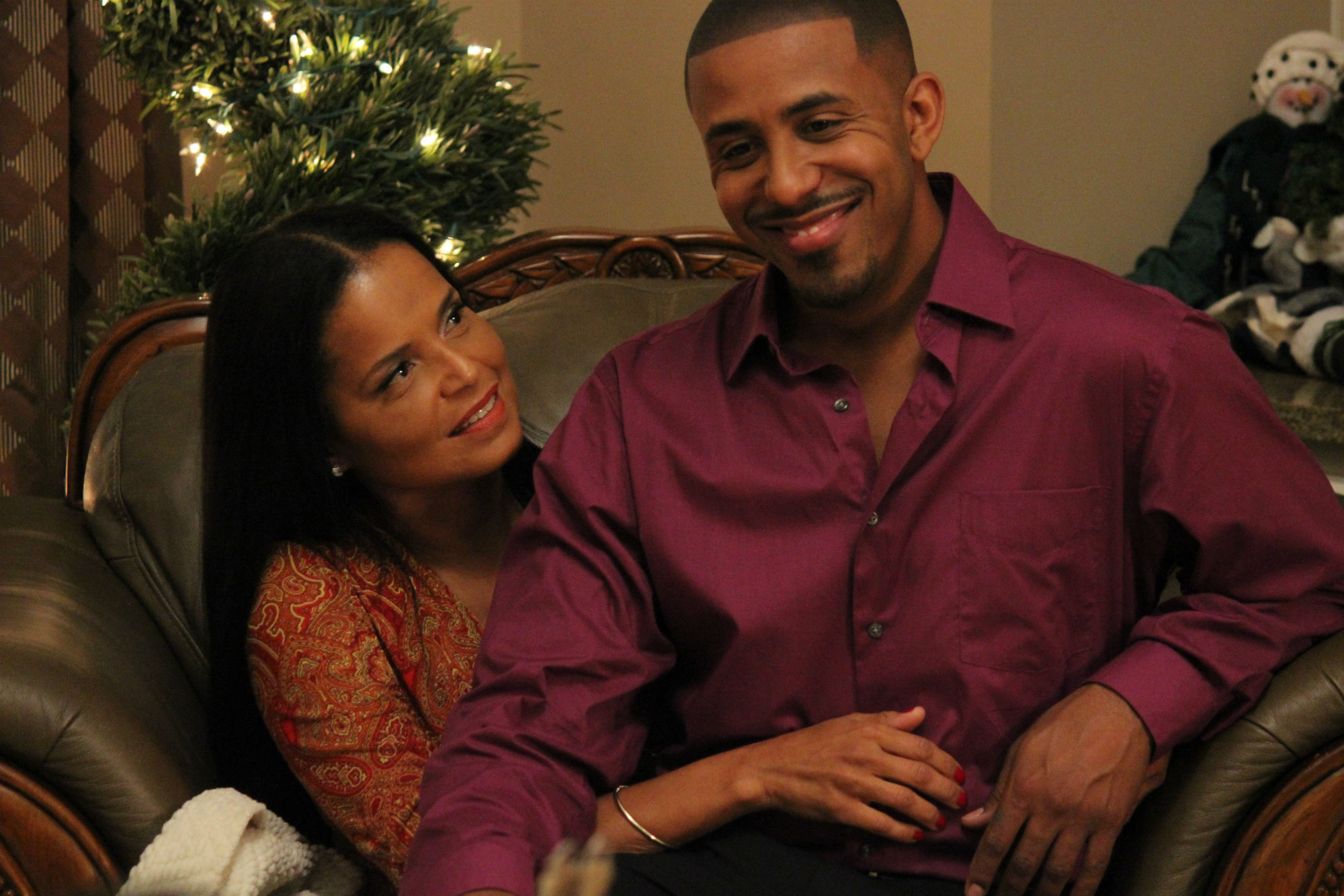 Marry US For Christmas - Victoria Rowell and Marques Houston 2 ...