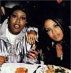 Photo of Missy Elliott & her friend musician  Aaliyah - Longtime