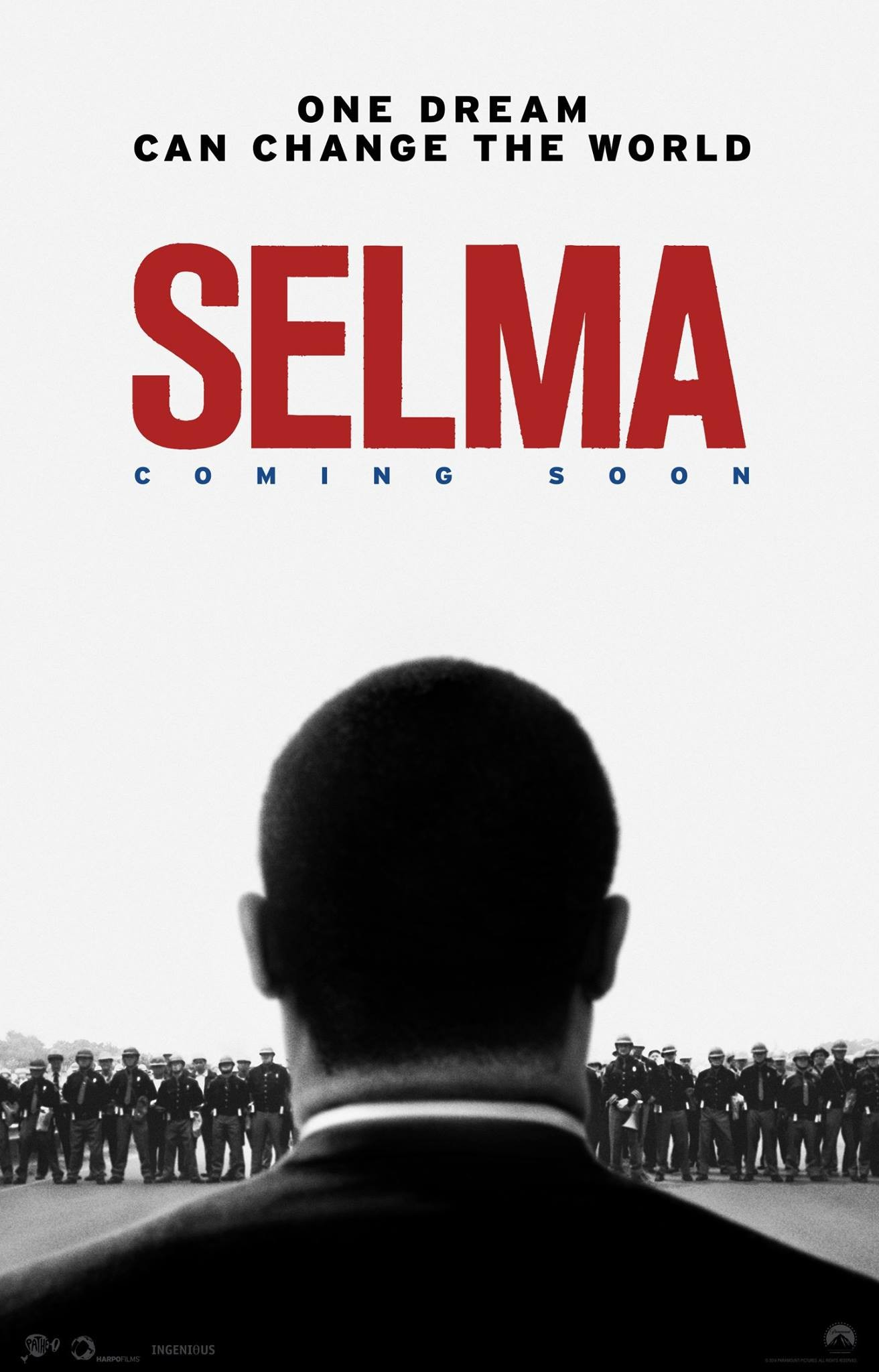 Selma-Poster Georges Clooney