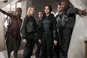 The Hunger Games Mockingjay Part 1 Group Shot