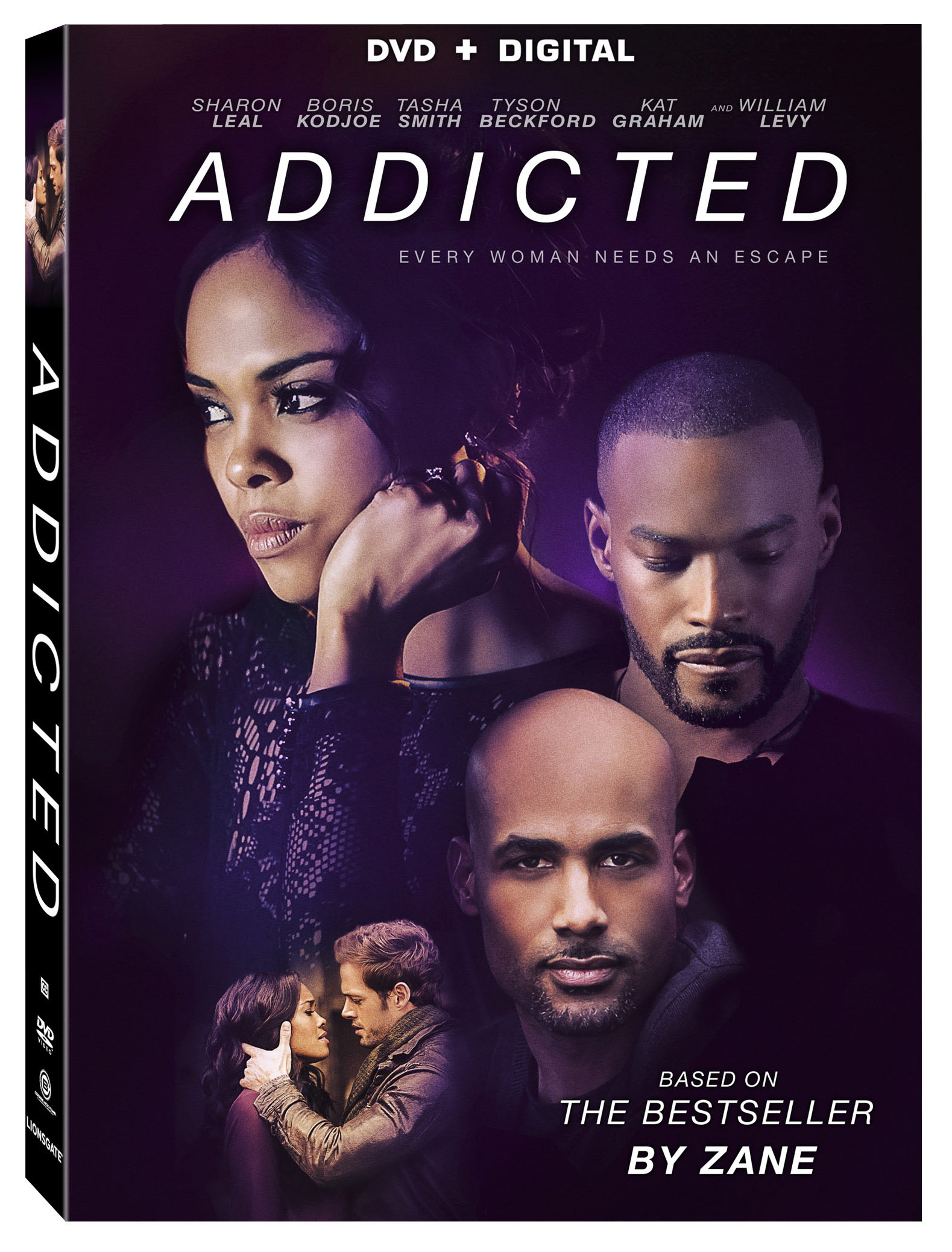 exclusive sharon leal talks addicted dvd. Black Bedroom Furniture Sets. Home Design Ideas