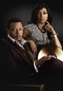 Empire pic - Terrence Howard and Taraji P. Henson