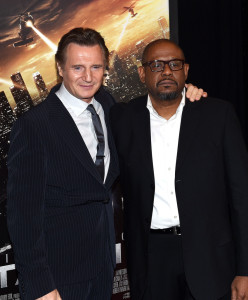 Liam Neeson and Forest Whitaker