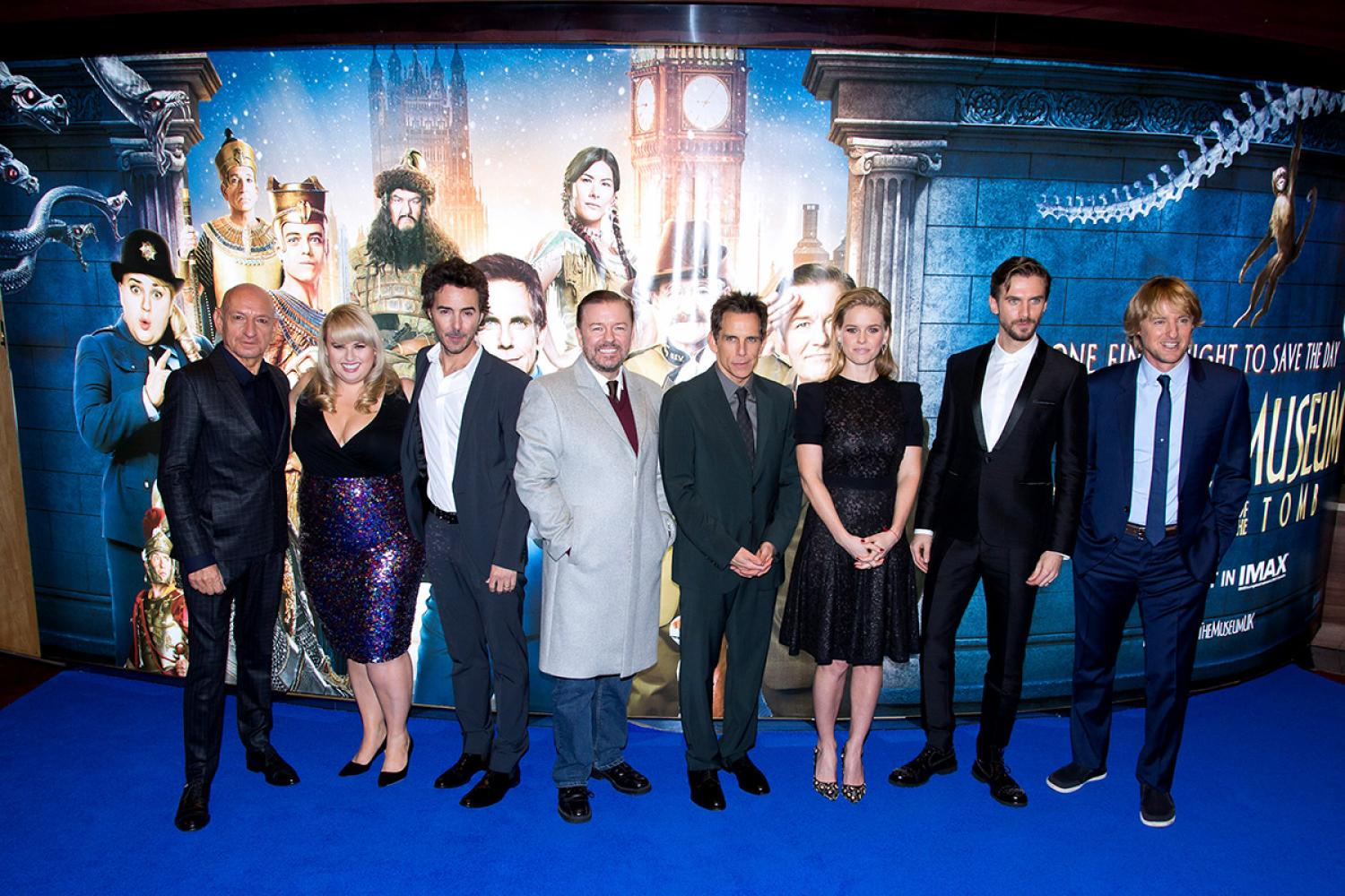 Night at The Museum: Secret of the Tomb Press Conference ...