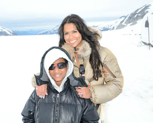 tracey edmonds and son