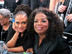 Ava DuVernay and Oprah Winfrey