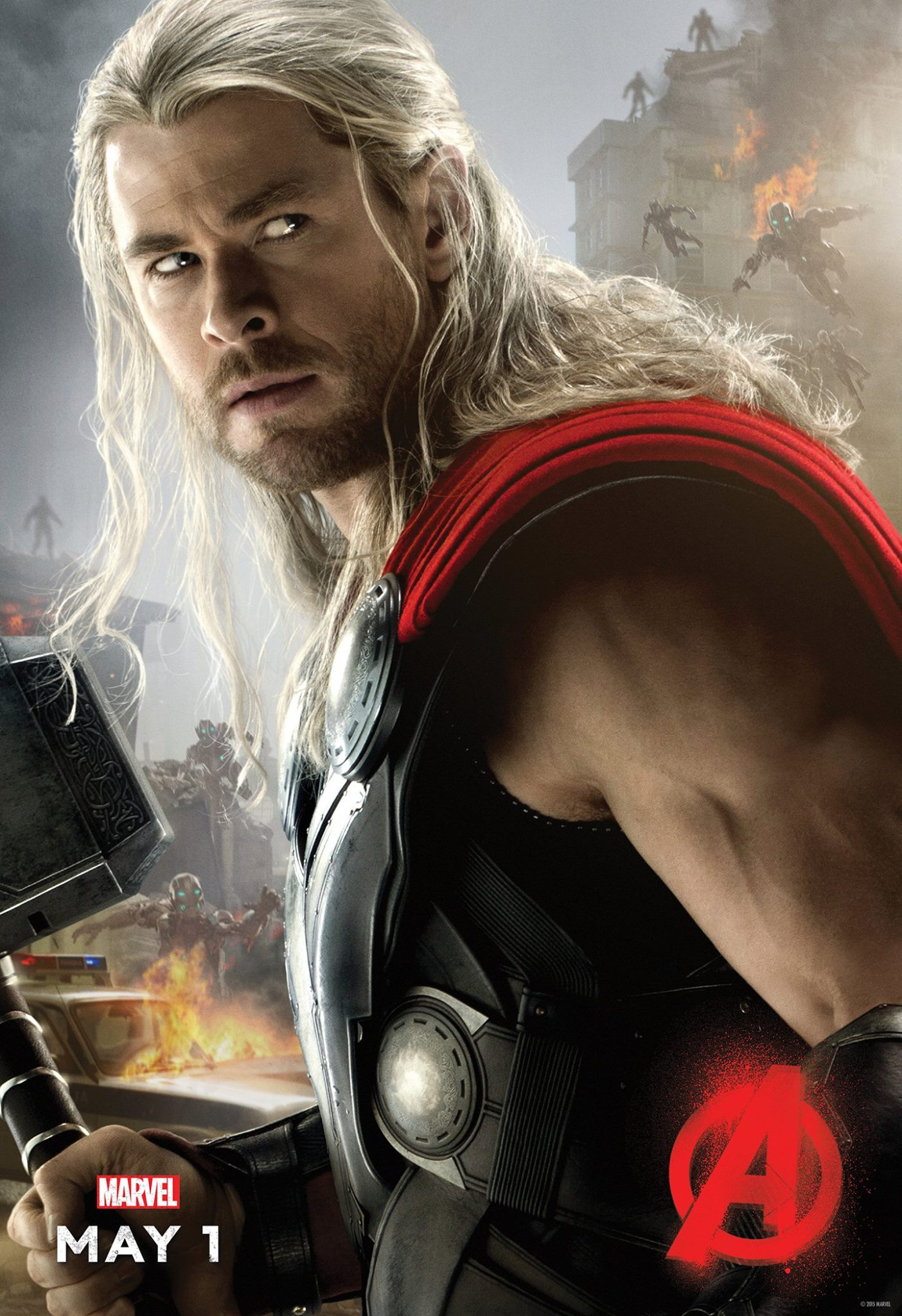 Avengers Age of Ultron Poster Thor - blackfilm.com/read ...
