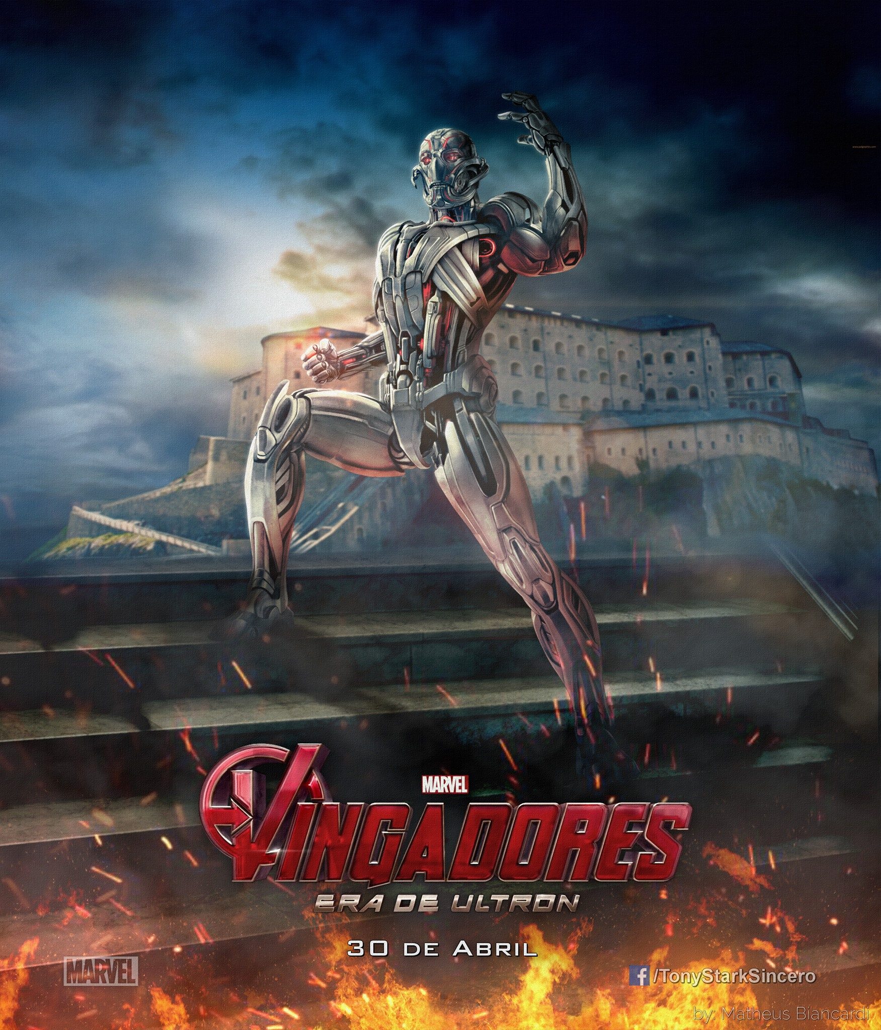 Avengers Age of Ultron Promo Art 4
