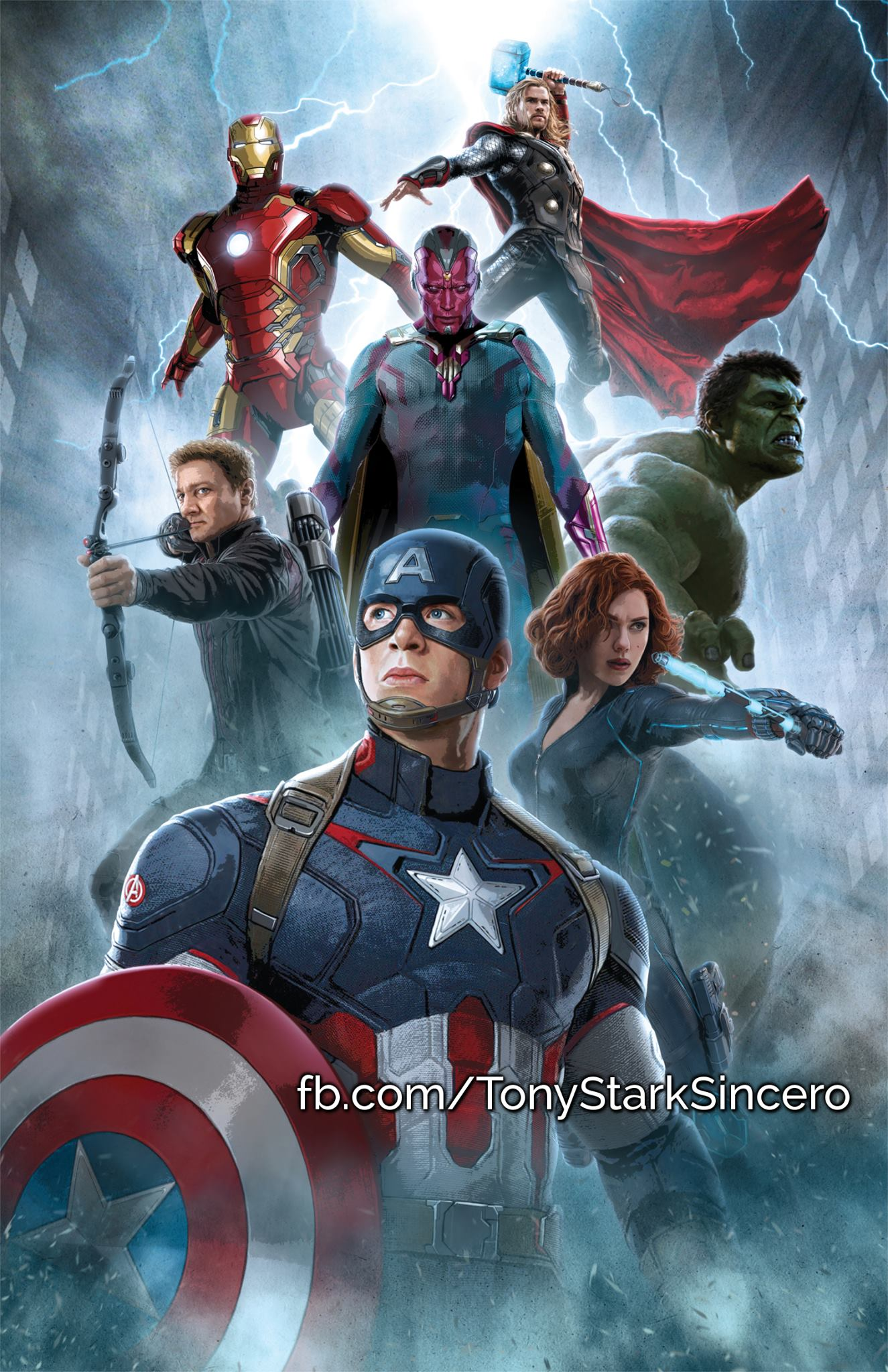 Avengers Age Of Ultron Promo Art 7 Blackfilmcomread