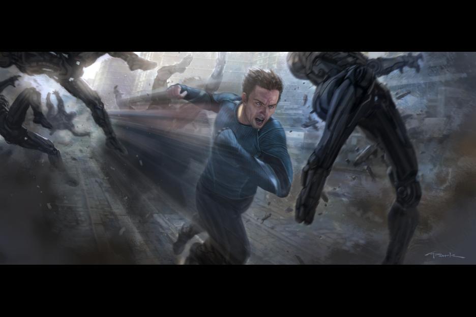Quicksilver Avengers 2 Concept Art Quicksilver concept art
