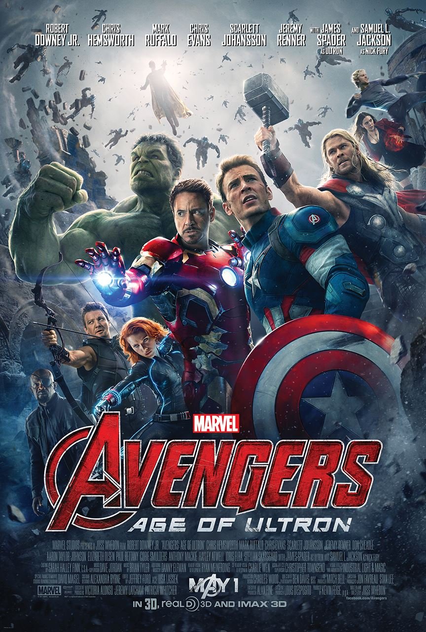 Official Poster For Avengers: Age of Ultron - blackfilm ...