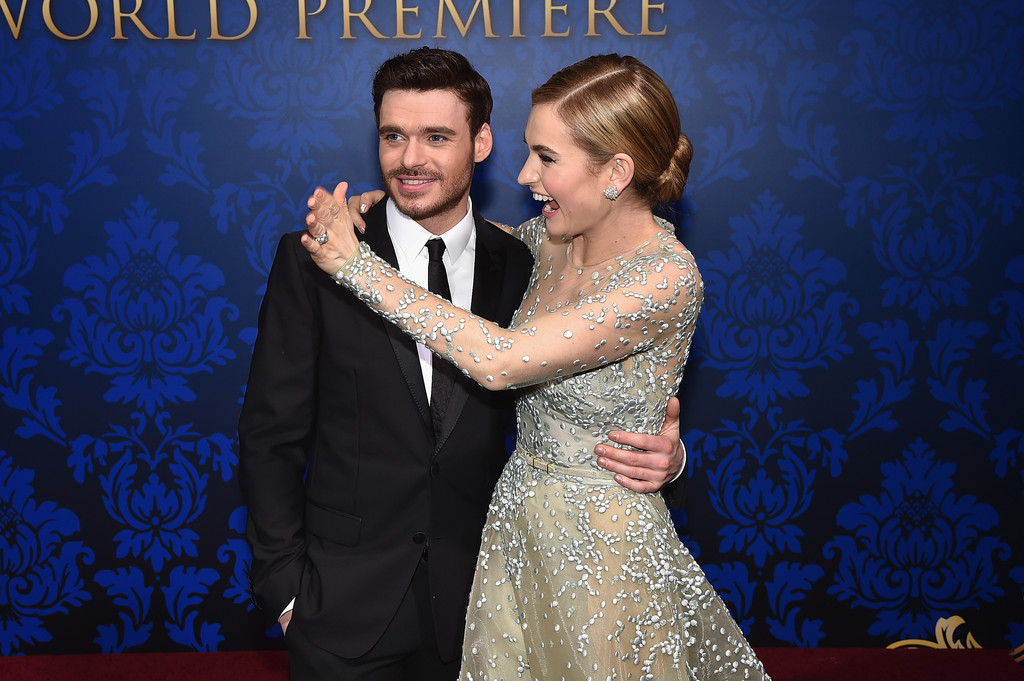 Richard Madden And Lily
