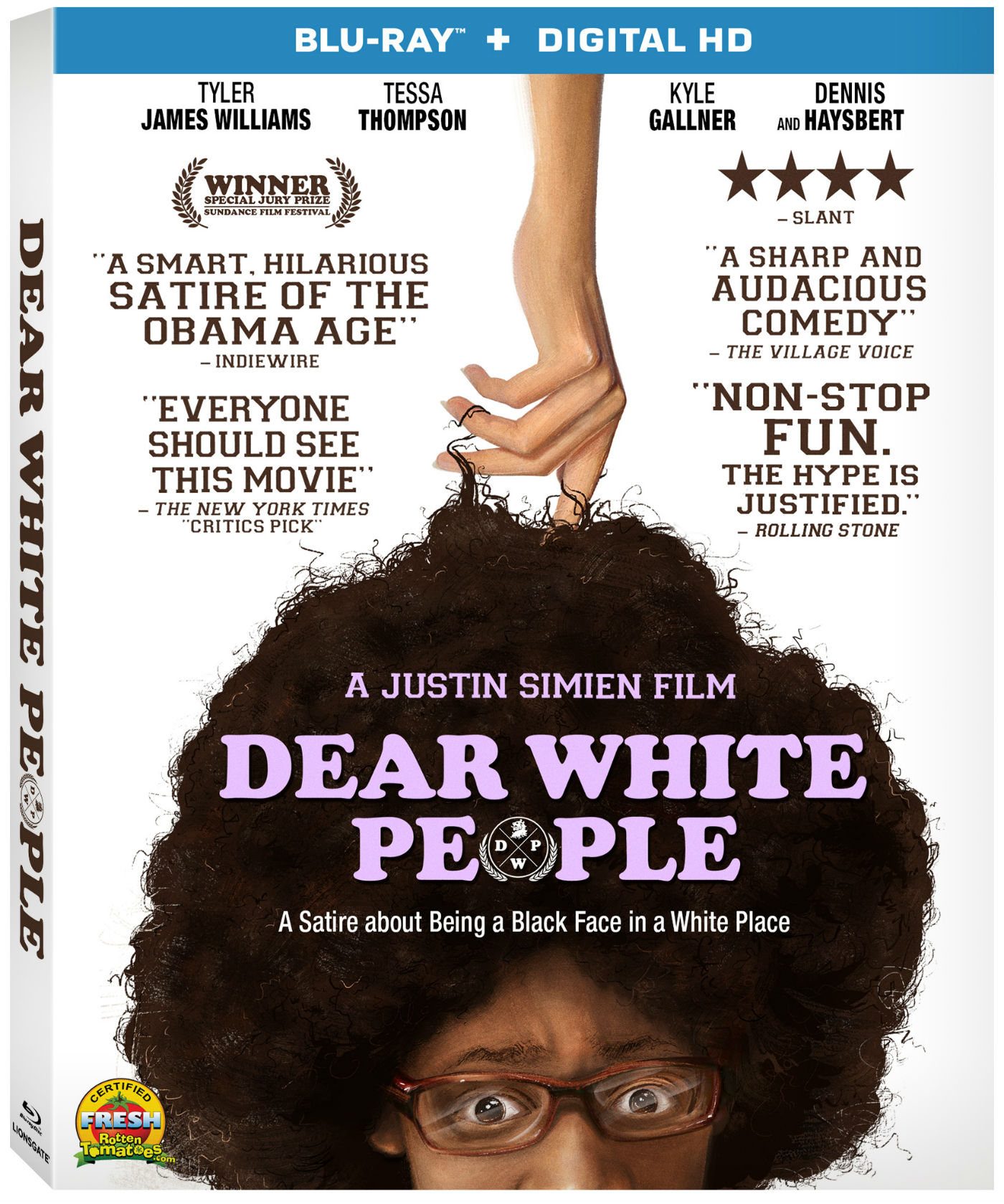 Blu-ray Contest: Dear White People - Blackfilm - Black