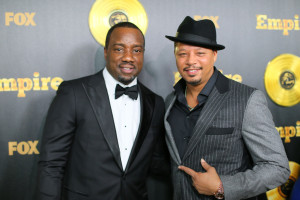 Malik Yoba and Terrence Howard