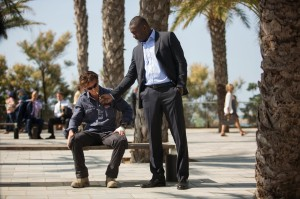 The Gunman 10 Sean Penn and Idris Elba