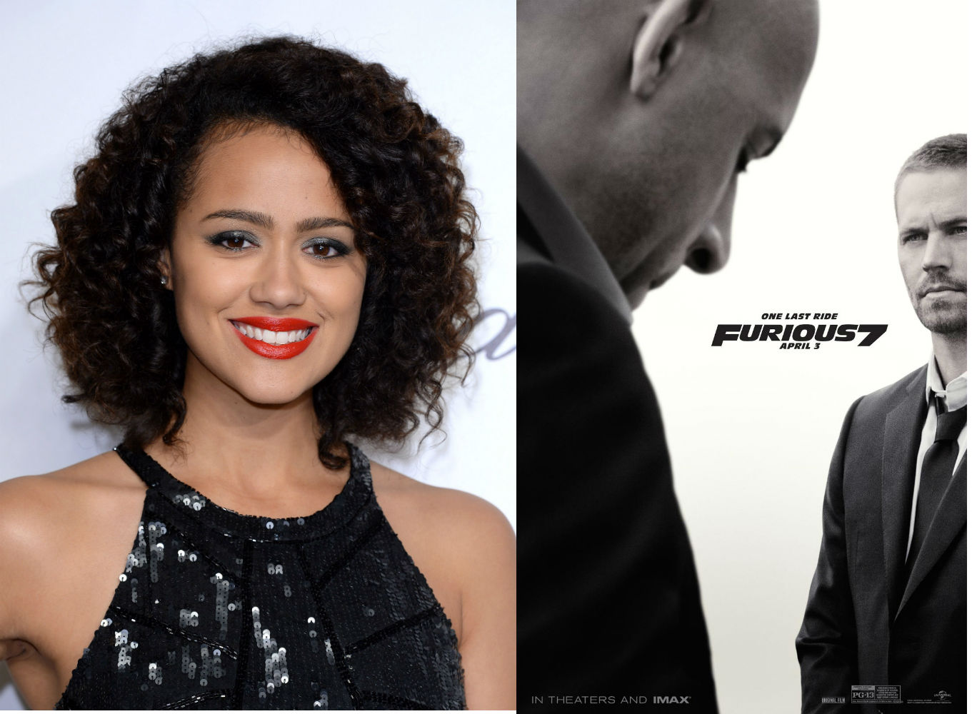Nathalie Emmanuel Talks Furious 7 Blackfilm Com Black Movies Television And Theatre News