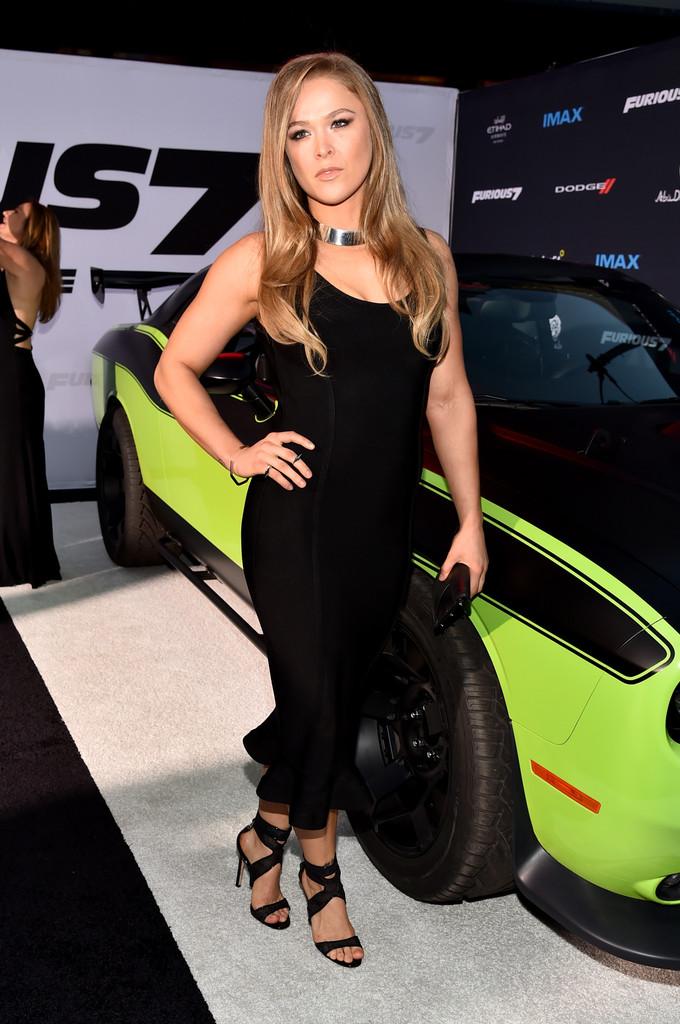 Furious 7 Premiere Ronda Rousey 2 Blackfilm Com Read