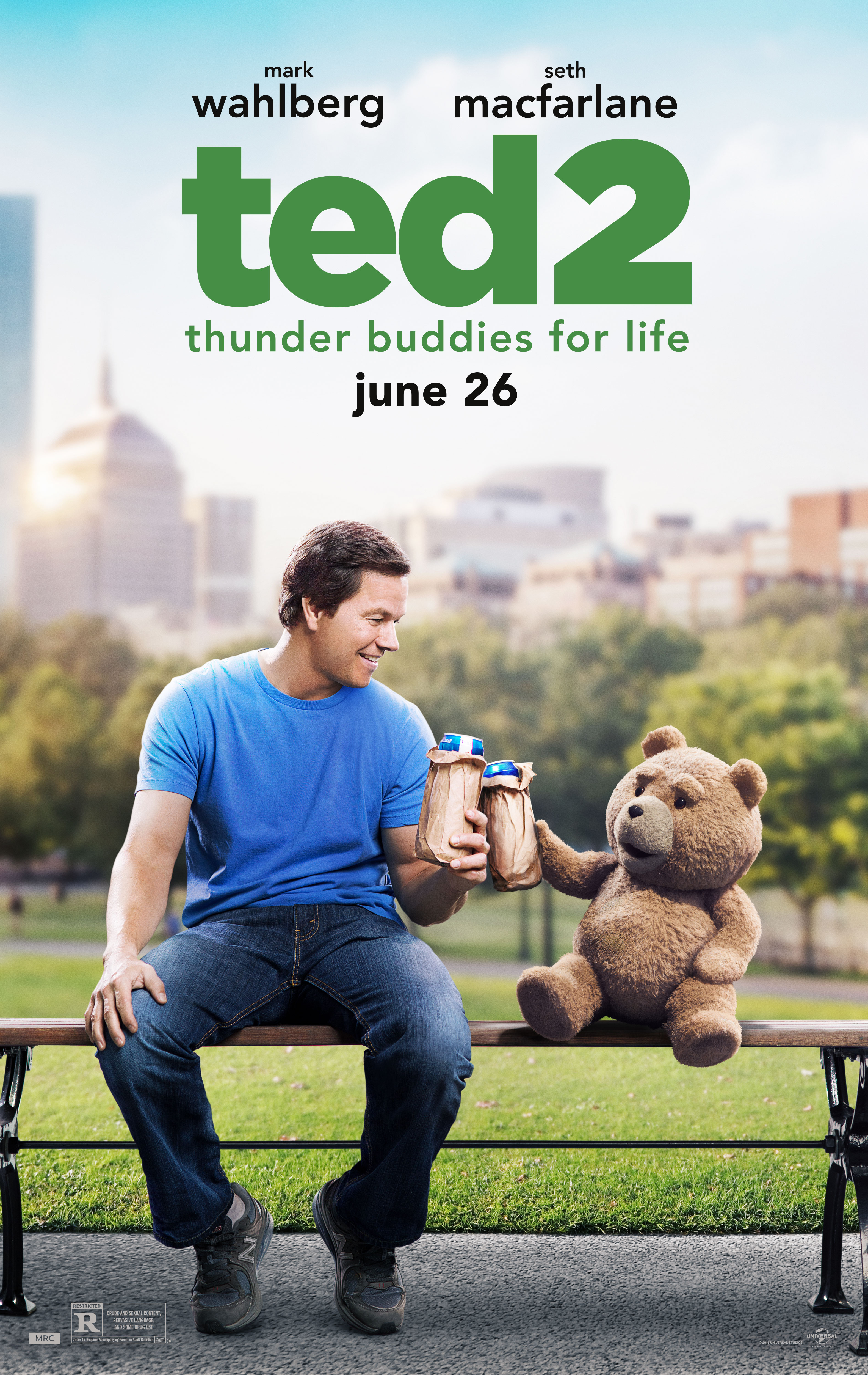 Ted Youtube: New Poster And Restricted Trailer To Ted 2