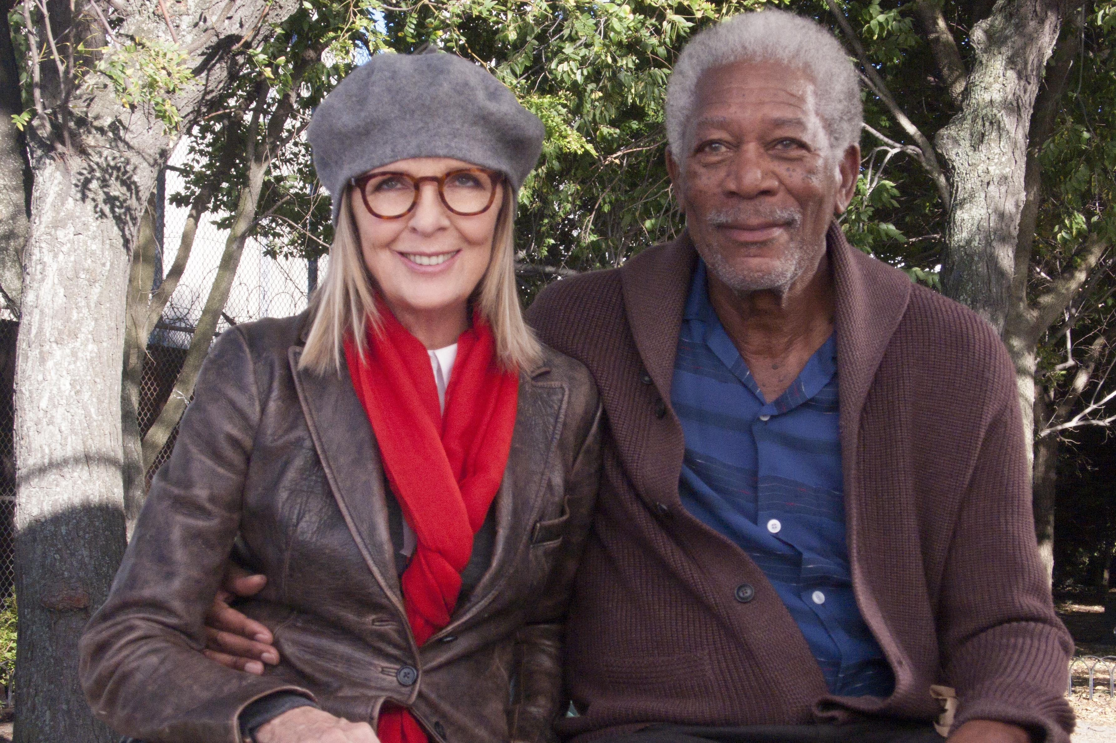 Morgan Freeman Diane Keaton And Director Richard Loncraine Talk 5 Flights Up Blackfilm Com Black Movies Television And Theatre News