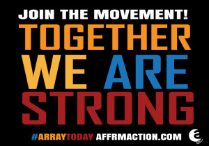 AFFRM Together We Are Strong logo