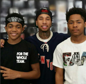 Barbershop 3 : Barbershop 3 Michael Rainey Jr, Tyga and Diallo