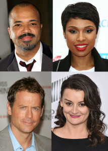Jeffrey Wright Jennifer Hudson Greg Kinnear and Alison Wright