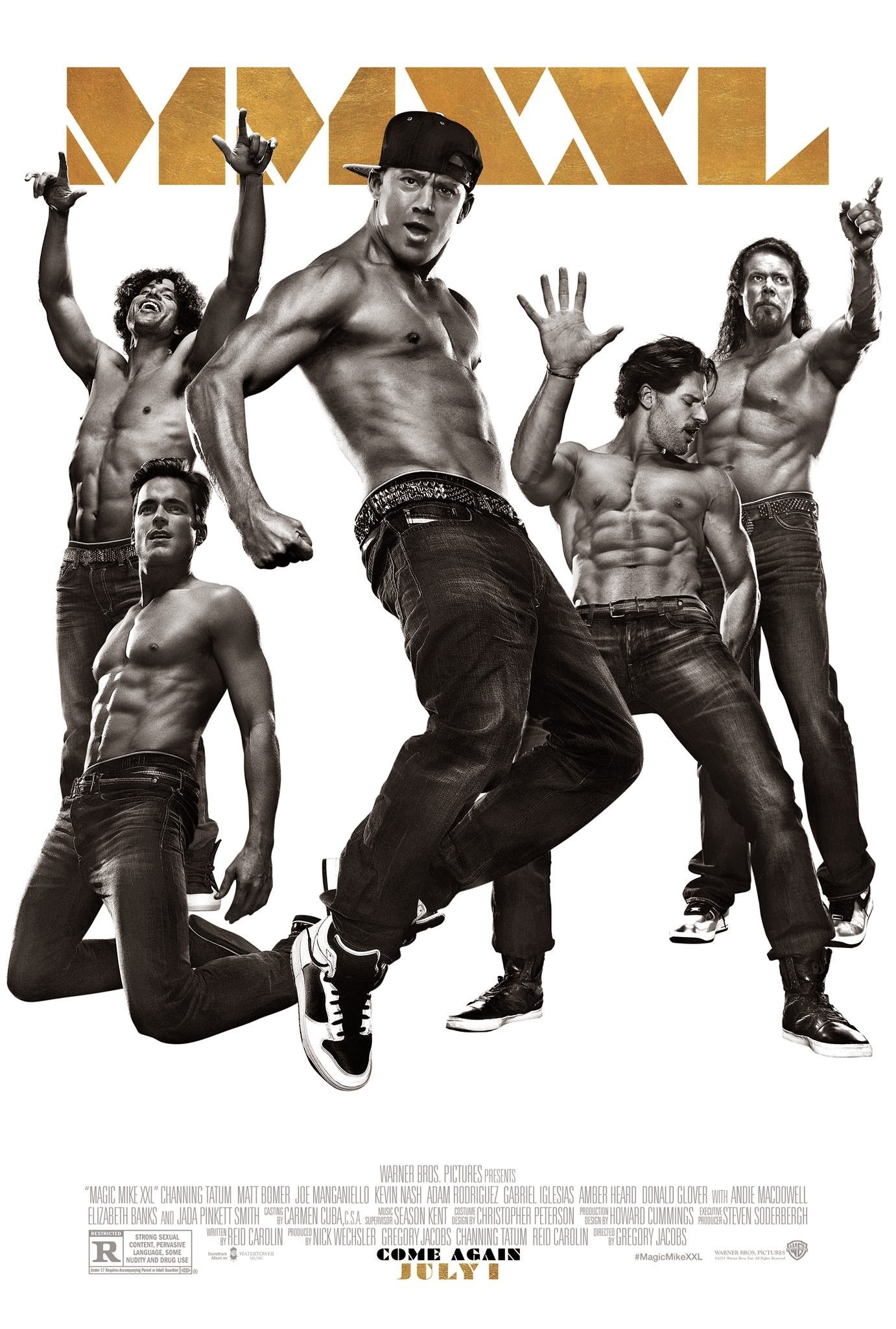 magic mike xxl final poster. Black Bedroom Furniture Sets. Home Design Ideas