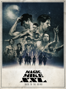 Magic Mike XXL poster group shot