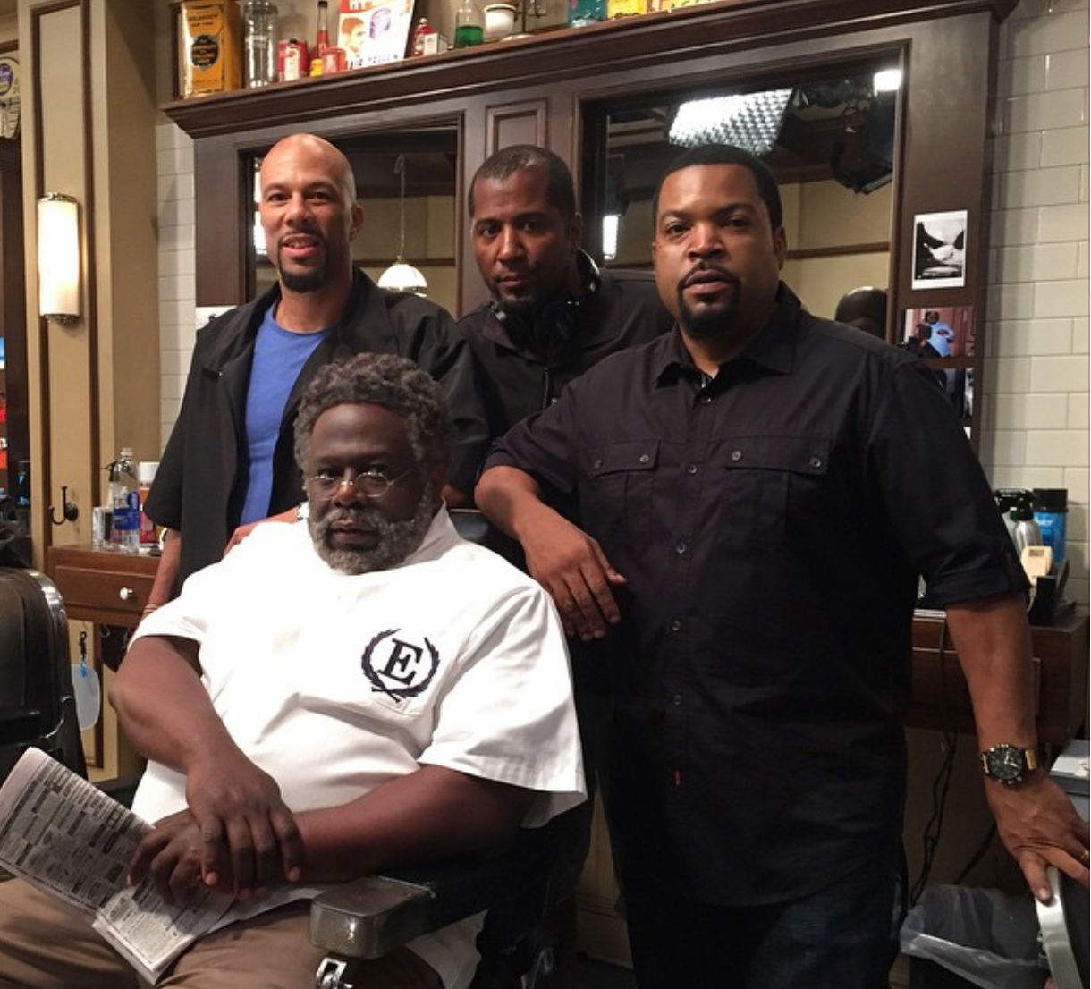 Barbershop 3 : Barbershop 3 Ice Cube Common Malcolm D. Lee and Cedric the Entertainer ...