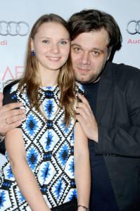 Director Myroslav Slaboshpytskiy and Yana Novikova