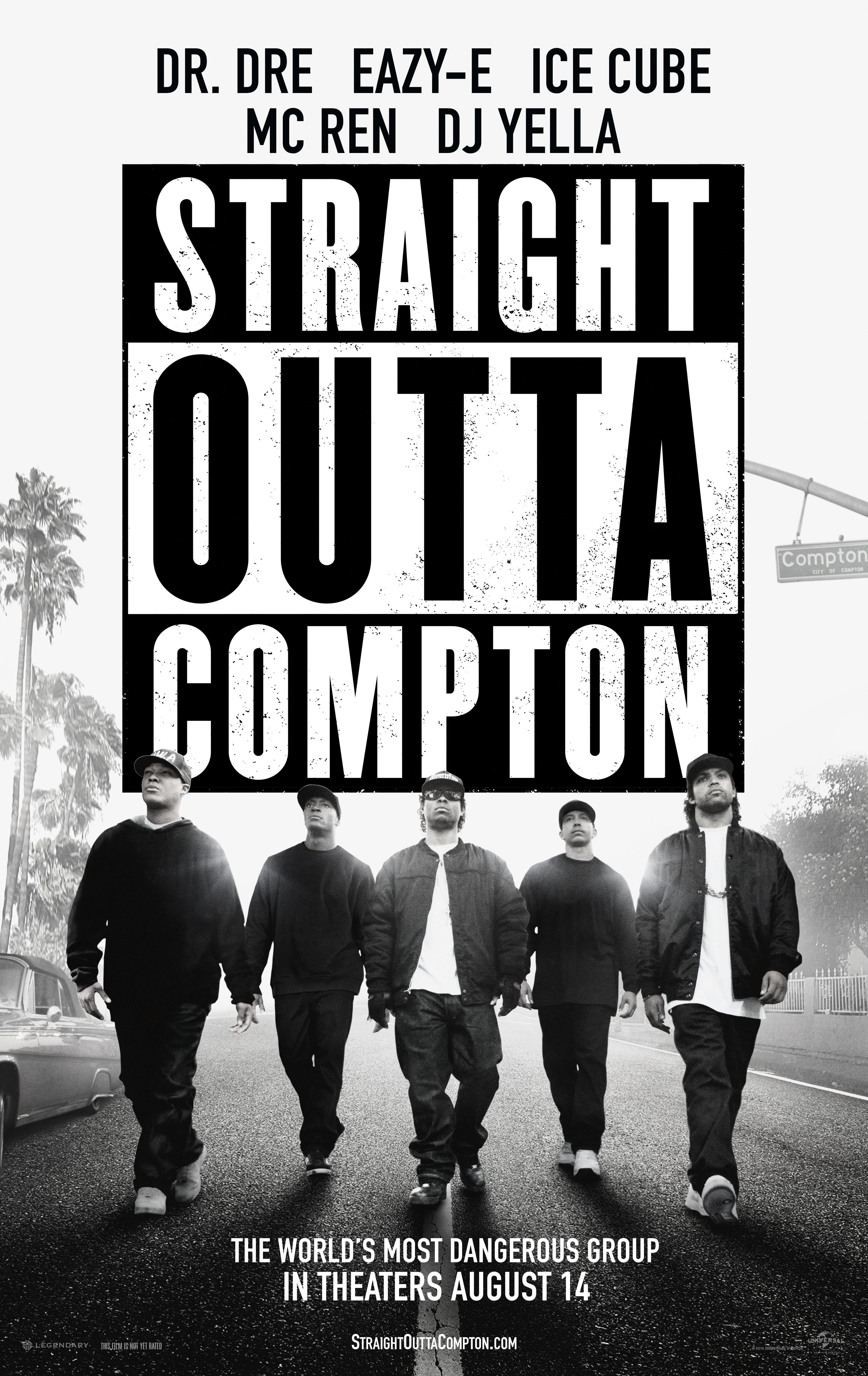 """Straight Outta Compton Movie Wallpaper """"straight Outta Compton,"""""""