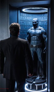 Batman v Superman Dawn of Justice Ben Affleck with Batsuit