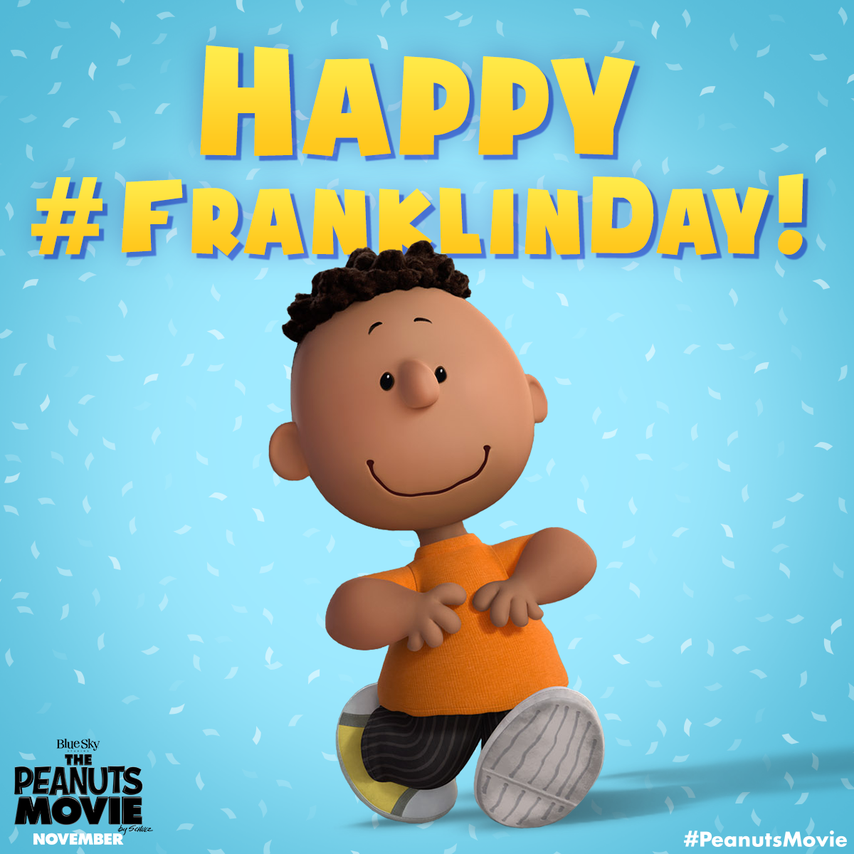 Happy Franklin Day From Charles Schulz's Peanuts