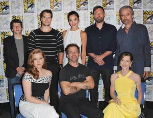 SDCC 2015 Batman v Superman Dawn of Justice cast