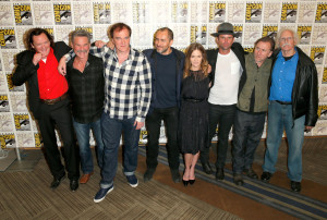 SDCC 2015 The Hateful Eight cast
