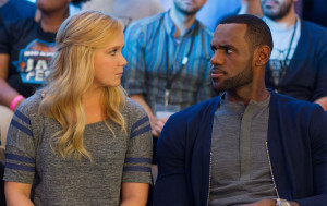 Trainwreck 17 Amy Schumer and LeBron James