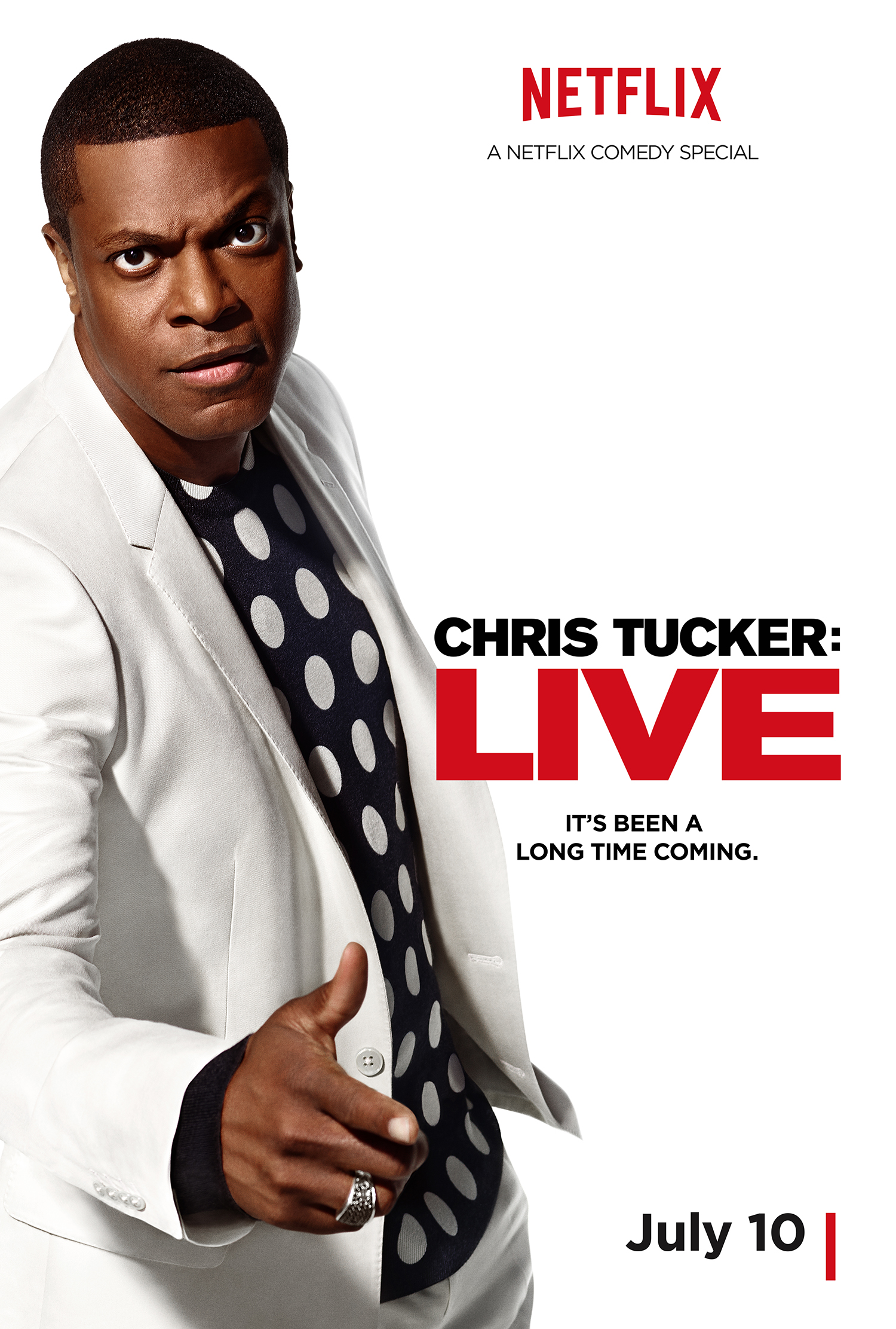 Trailer and Poster To CHRIS TUCKER LIVE Netflix Stand-Up ...