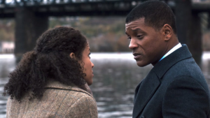Concussion Gugu Mbatha-Raw and Will Smith