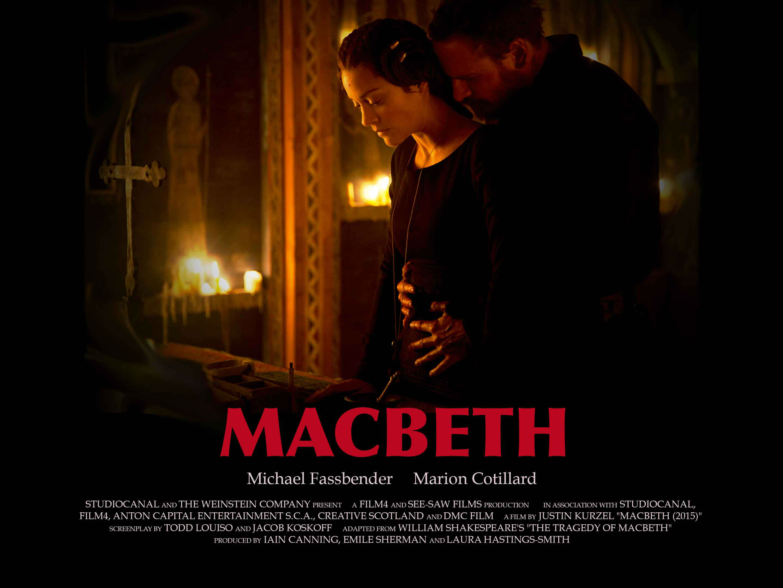 Movie Posters 2015: Macbeth Poster 11 - Blackfilm.com/read
