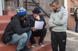 Creed 8 Ryan Director Ryan Coogler, Sylvester Stallone and Michael B. Jordan