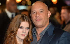 Rose Leslie and Vin Diesel