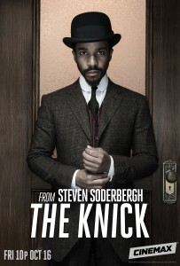 The Knick Season 2 poster André Holland as Dr. Algernon Edwards